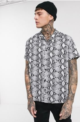 Short Sleeves Python Shirts