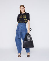 Stella McCartney Crew Neck Street Style Cotton Short Sleeves T-Shirts