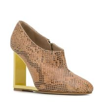 A.W.A.K.E. Leather Python Wedge Pumps & Mules
