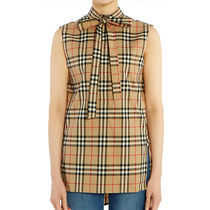 Burberry Cotton Logo Shirts & Blouses
