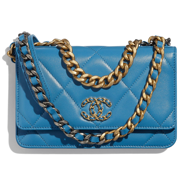 shop chanel chain wallet