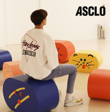 ASCLO More T-Shirts Cotton Short Sleeves Oversized Long Sleeve T-shirt Logo