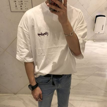 ASCLO More T-Shirts Cotton Short Sleeves Oversized Long Sleeve T-shirt Logo 7