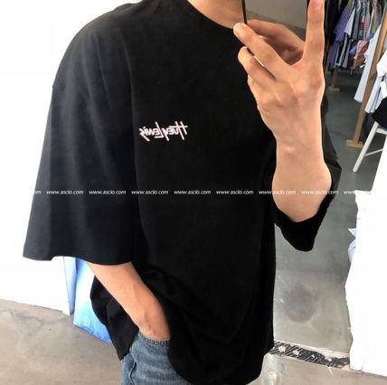 ASCLO More T-Shirts Cotton Short Sleeves Oversized Long Sleeve T-shirt Logo 10