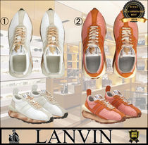 LANVIN Logo Low-Top Sneakers