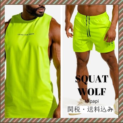 Street Style Co-ord Matching Sets Neon Color Two-Piece Sets