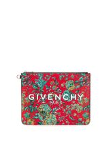 GIVENCHY Flower Patterns Logo Clutches