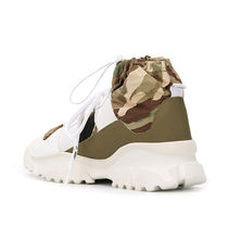 F_WD Sneakers Camouflage Street Style Leather Logo Sneakers 4
