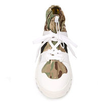 F_WD Sneakers Camouflage Street Style Leather Logo Sneakers 5