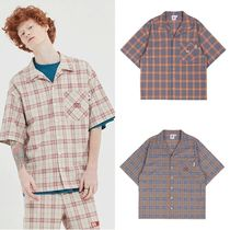 BADINBAD Other Plaid Patterns Casual Style Unisex Street Style Medium