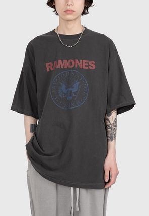 Raucohouse More T-Shirts Street Style Cotton Short Sleeves T-Shirts 2