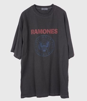 Raucohouse More T-Shirts Street Style Cotton Short Sleeves T-Shirts 4
