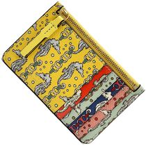 Tory Burch PERRY Other Animal Patterns Small Wallet Coin Cases