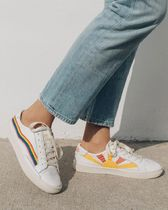 SOLUDOS Casual Style Leather Low-Top Sneakers