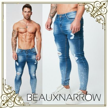 Tapered Pants Denim Skinny Jeans