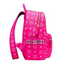 MCM Unisex Studded Neon Color Backpacks