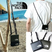 THE NORTH FACE Unisex Nylon Card Holder Logo Coin Cases