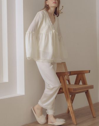 Plain Lace Loungewear Lounge & Sleepwear