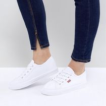 Levi's Casual Style Street Style Plain Logo Low-Top Sneakers