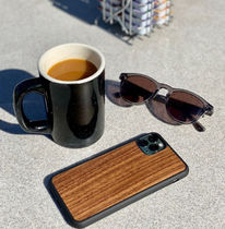 Recover Unisex Plain Silicon Made of Wood iPhone 8 iPhone 8 Plus