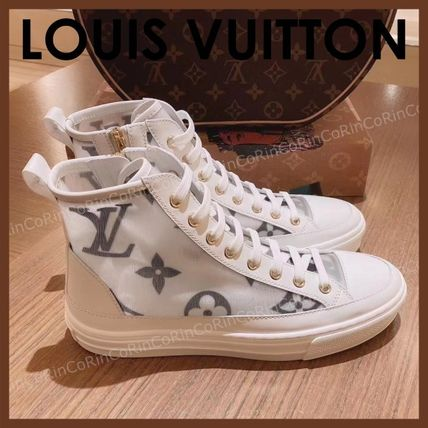 Louis Vuitton MONOGRAM Monogram Casual Style Unisex Street Style Low-Top Sneakers
