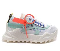 Off-White Street Style Leather Low-Top Sneakers