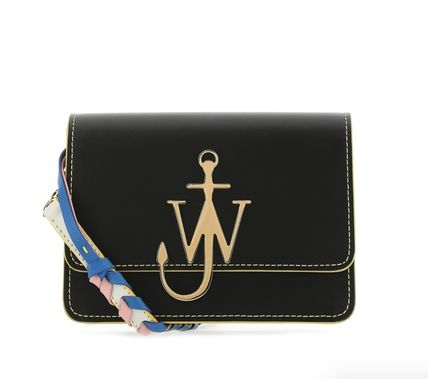 Leather Elegant Style Crossbody Logo Shoulder Bags