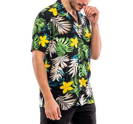 Stripes Flower Patterns Tropical Patterns Shirts