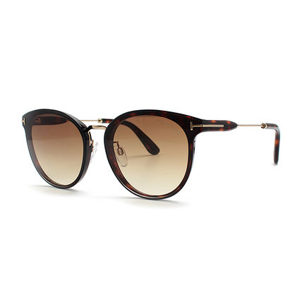 TOM FORD Round Oversized Sunglasses