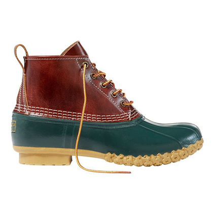 Mountain Boots Bi-color Leather U Tips Outdoor Boots