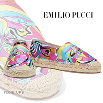 Emilio Pucci Casual Style Slip-On Shoes