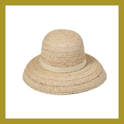 lack of color Handmade Straw Hats