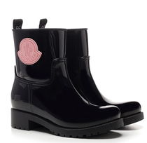 MONCLER PVC Clothing Mid Heel Boots