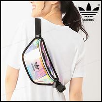 adidas Casual Style Unisex Street Style Crystal Clear Bags