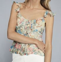 REISS Flower Patterns Casual Style Shirts & Blouses