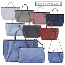 State of Escape Casual Style Unisex Handmade Party Style Formal Style  Totes