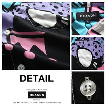 REASON Shirts Other Plaid Patterns Heart Star Unisex Street Style 14