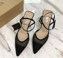 ZARA Casual Style Plain Pin Heels Party Style Office Style