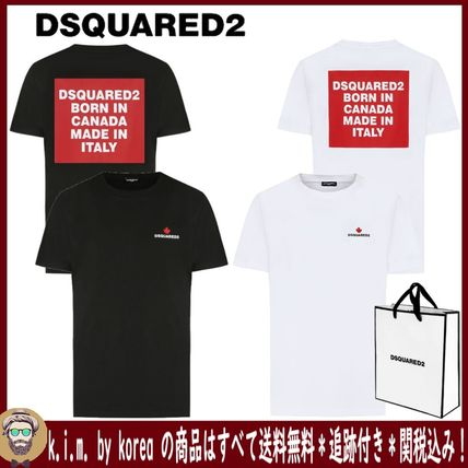 D SQUARED2 More T-Shirts Street Style Short Sleeves Logo T-Shirts