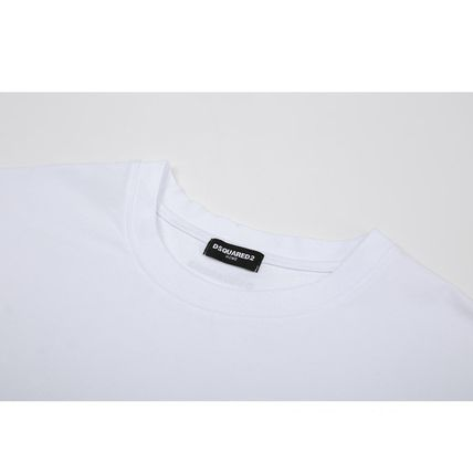 D SQUARED2 More T-Shirts Street Style Plain Short Sleeves Logo T-Shirts 4