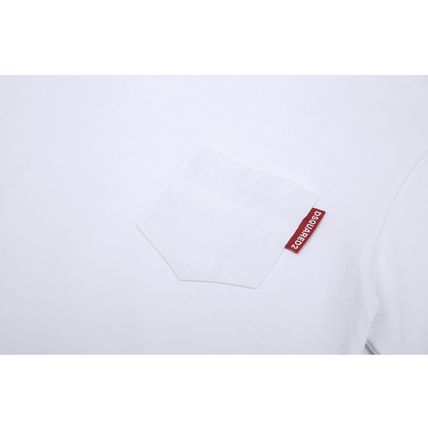 D SQUARED2 More T-Shirts Street Style Plain Short Sleeves Logo T-Shirts 5