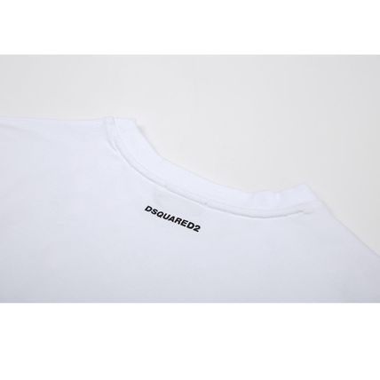 D SQUARED2 More T-Shirts Street Style Plain Short Sleeves Logo T-Shirts 7