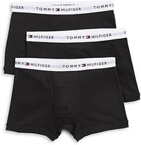 Tommy Hilfiger Plain Cotton Co-ord Logo Trunks & Boxers