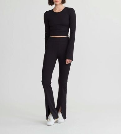 Plain Long Elegant Style Skinny Pants