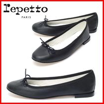 repetto Casual Style Street Style Plain Leather Formal Style  Flats