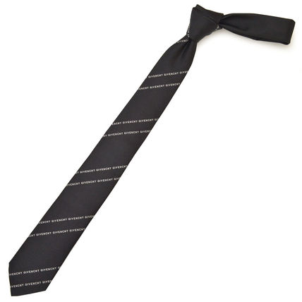 Stripes Silk Bridal Logo Ties