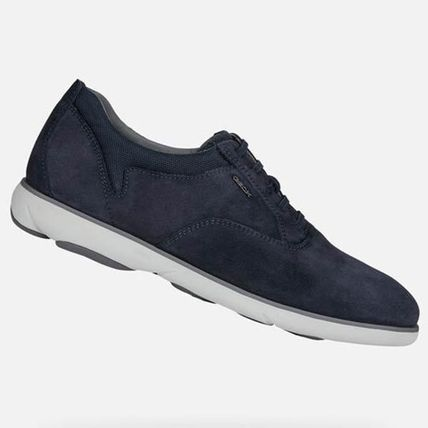 Suede Street Style Plain Sneakers