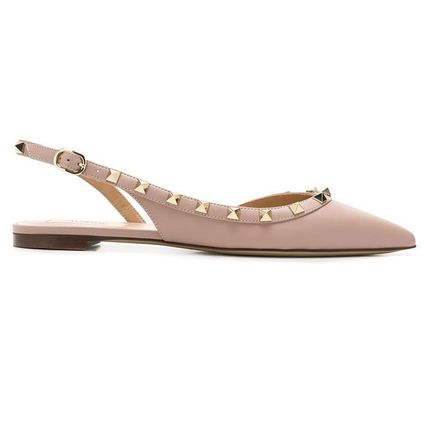 Studded Leather Mules Sandals Sandal