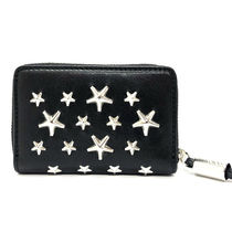 Jimmy Choo Leather Long Wallet  Coin Cases