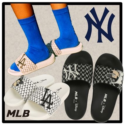 MLB Korea Unisex Street Style Shower Shoes Sports Sandals